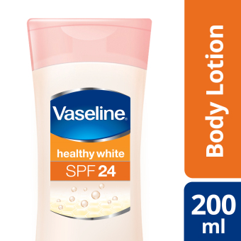 VASELINE HEALTHY WHITE LOTION SPF 24 200ML
