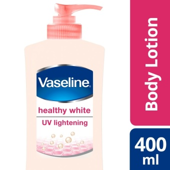 VASELINE HEALTHY WHITE LOTION UV LIGHTENING 400ML .