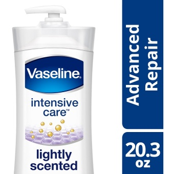 Vaseline Intensive Care Lotion Advanced Repair Lightly Scented 20.3oz