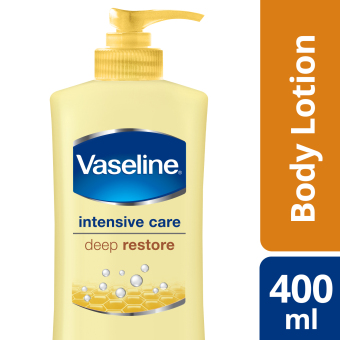 VASELINE INTENSIVE CARE LOTION DEEP RESTORE 400ML