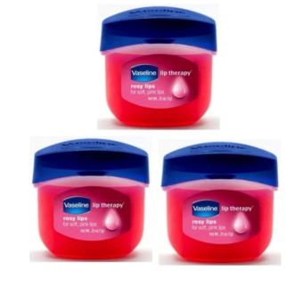 Vaseline Lip Therapy Rosy Lips Mini 7g (Set of Three)