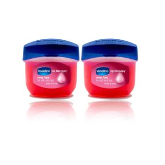 Vaseline Lip Therapy Rosy Lips Mini Set of 2