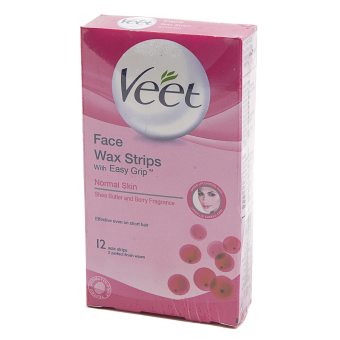 Veet Cold Wax Strips Face 12ml Price Philippines