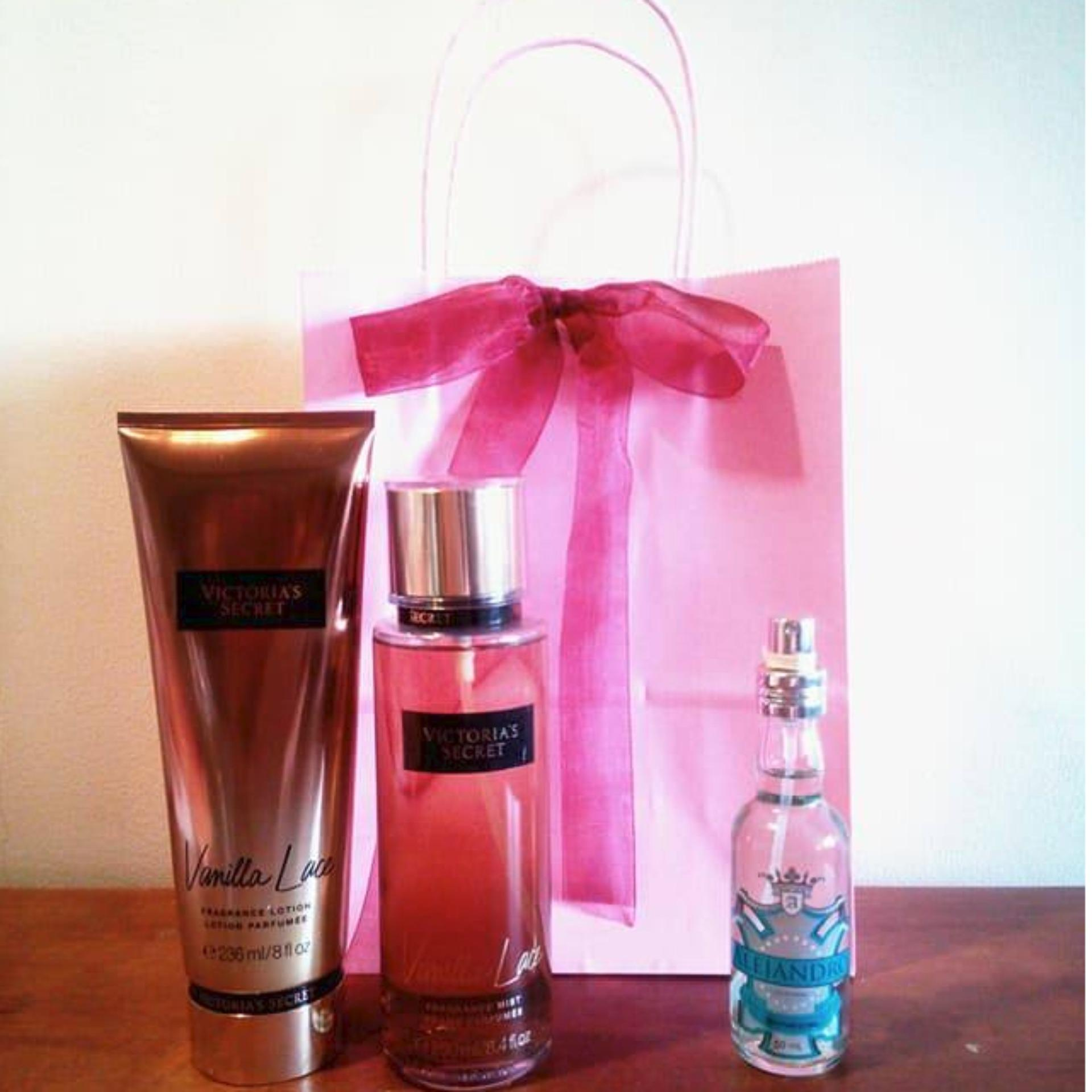 9f368d848e5 Victoria s Secret Vanilla Lace Fragrance Lotion and Victoria s Secret  Vanilla Lace Fragrance Mist