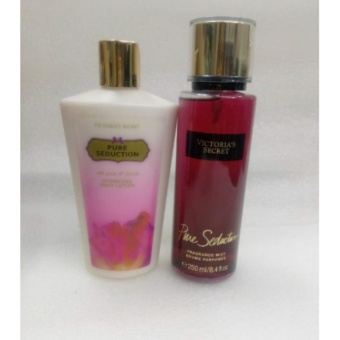 Victoria's Secret Pure Seduction Fragrance Mist and Pure SeductionBody Lotion Bundle 250 ml set of 2 Price Philippines