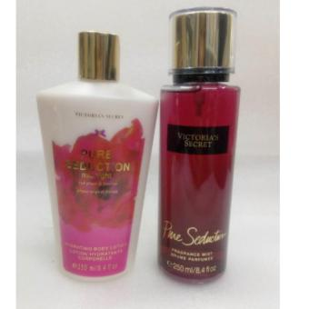 Victoria's Secret Pure Seduction Fragrance Mist and Pure SeductionMidnight Body Lotion Bundle 250ml set of 2 Price Philippines