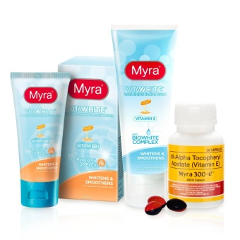 VitaWhite Beauty Bundle by Myra with Myra 300E