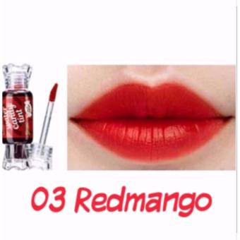 Water Candy Tint Blush On and Cheek Tint Lipstick - 03 Red Mango