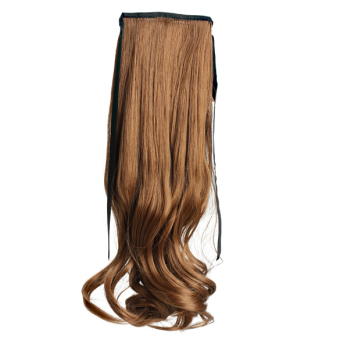 Wavy Ponytail Wigs Hair Hairpiece Extension