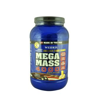 Weider's Mega Mass 4000 Whey Protein 1.98 LB (Chocolate)