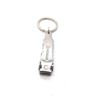 Wenger Stainless Foldable Ultra-thin Nail Clippers Cutter - 4