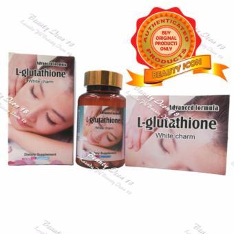 White Advance L-Glutathione White Charm Capsules Bottle of 60 - 3