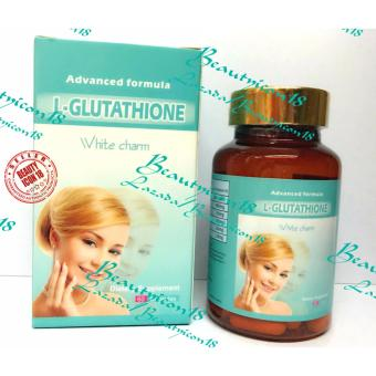 White Advance L-Glutathione White Charm Capsules Bottle of 60