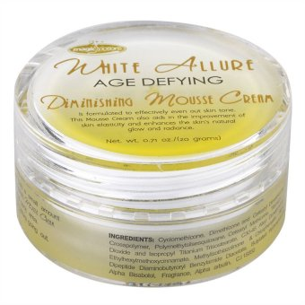 White Allure Age Defying Mousse Cream 20ml