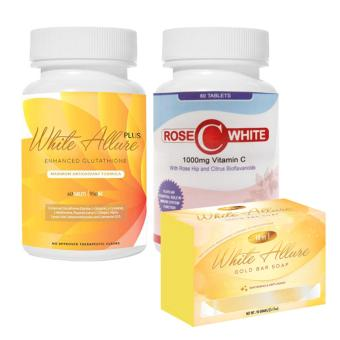 White Allure Enhanced Glutathione Combo