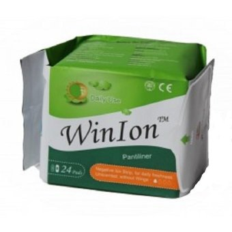 Winalite WinIon Anion Pantyliner, Pack of 24-Pieces Price Philippines