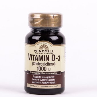 Windmill Vitamin D3 1000 IU 100 Tablets