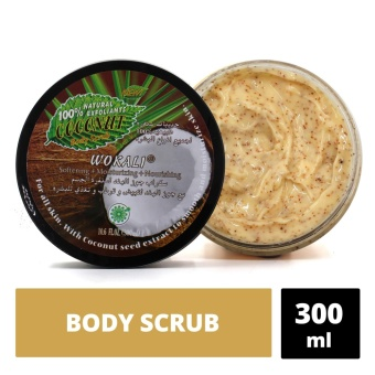Wokali Coconut Body Scrub