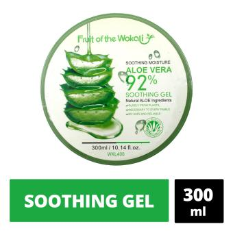 Wokali Soothing and Moisturizing Aloe Vera 92 Soothing Gel 300ml