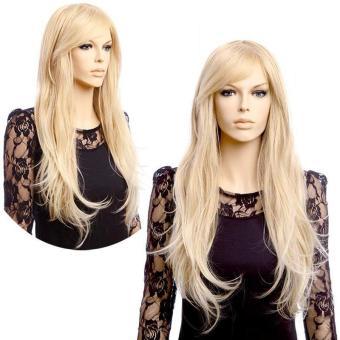 Women Long Wavy Wig Heat Resistant Cosplay Hair Wig - intl