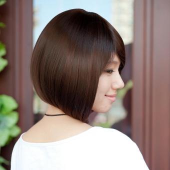 Women Short Wig Cute Synthetic Straight Wig Hair - intl - 2