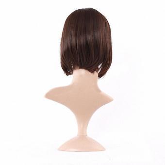 Women Short Wig Cute Synthetic Straight Wig Hair - intl - 4