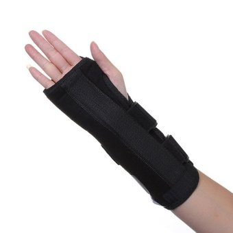 Wrist Brace Support Splint For Carpal Tunnel Arthritis Sports Sprain Strain Pain Left L
