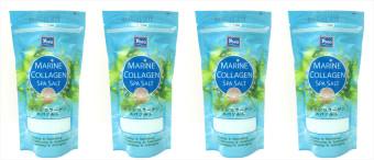 Yoko Marine Collagen Spa Salt w/ Zip Locker 300g Set of 4s - 2