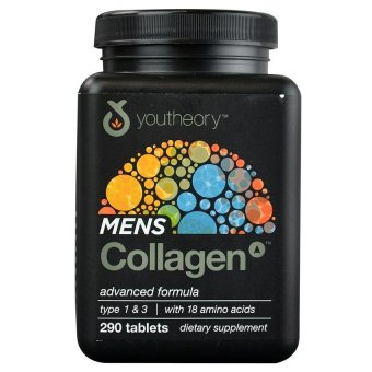 Youtheory Men's Collagen Advanced Formula Dietary Supplement,Bottle of 290 Price Philippines