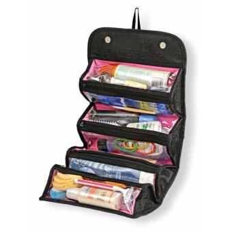 ZMB Roll N' Go Cosmetic Bag (Black)