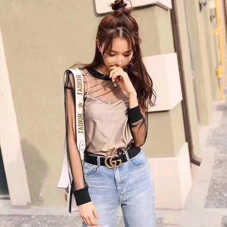 0796e2ec4 Belt #L2036-3.8cm GG fashion korean Leather Belt for women | Lazada PH