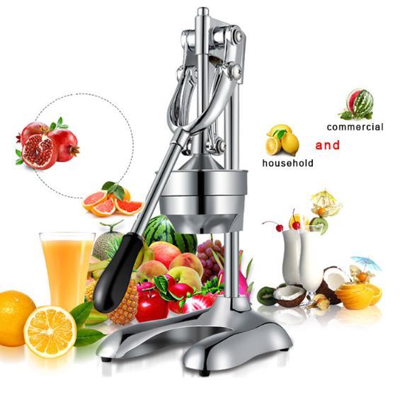 Manual Stainless Steel Juicer Hand Juice Press Squeezer Fruit Juicer Extractors