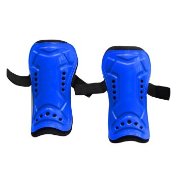 1 Pair Competition Pro Soccer Shin Guard Pads Shinguard ProtectorBlue - intl