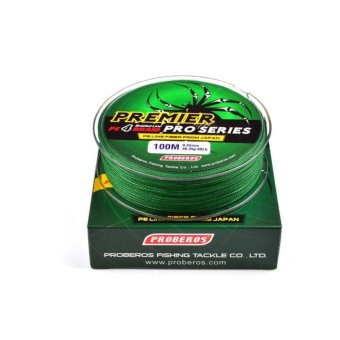 100M Super Strong PE Braided Fishing Line 15LB Green - intl