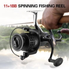 11+1BB Ball Bearings Spinning Fishing Reel Left/Right Interchangeable Collapsible Handle Fishing Reel