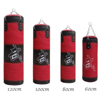 120 CM Punching Bag for Boxing Indoor Sports EmptySandbag(accessories as gift) - intl - 2