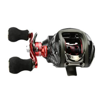 12BB 6.3:1 left Hand Bait Casting Fishing Reel Bait Casting Reels Red