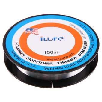 150 Meters Durable Nylon Flourocarbon Fishing Line Lure FishingTool Line(1#)(Clear) - intl