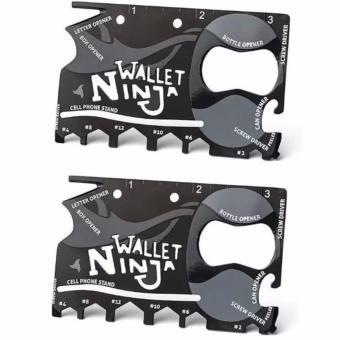 18-in-1 Tool Ninja Wallet set of 2