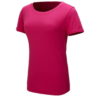 1PC Outdoor Women Sportwear Quick Dry T-Shirts Hot pink/L