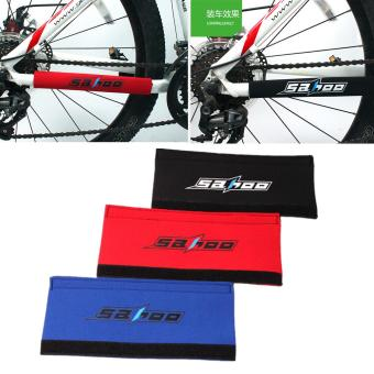 1pcs Bicycle Chain Protector Pad Paste Rear Fork Care Posted GuardCover - intl