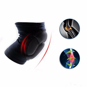 2 pcs Cycling Bike Thick Cushion Gel Comfortable Fit Impact Resistance Knee Pad for Biking Volleyball Cycling Outdoor Sports knee protection pads - 2
