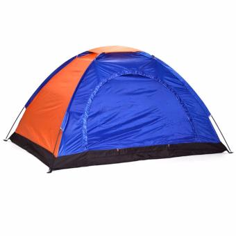 2-Person Dome Camping Tent (Colors may Vary)