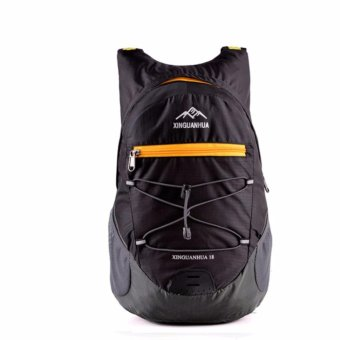 20 Liter Waterproof Foldable Backpack Hiking Daypacks Outdoor Drawstring Travel Bags Laptop Computer Back Pack Camera Bagpack Portable Waterproof Men Sports Light Ultra Skin Wear-resistant Cycling Trekking - intl
