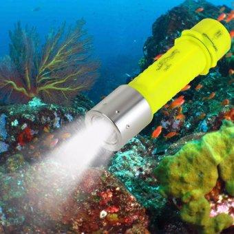 2000lumen LED Submarine Light Diving Flashlight Underwater Torch Waterproof Lamp - intl