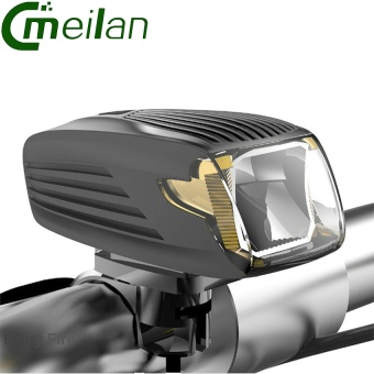 2017 New Bike Front light Bicycle Led Light USB Rechargeable German Design Certification Lamp Meilan X1 - intl