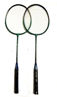 #207 Type Keka Portable Double Badminton Racket