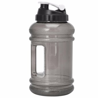2.2L Big BPA Free Sport Gym Training Drink Water Bottle Cap Kettle Workout Hot(Black) - intl