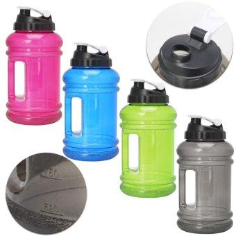 2.2L Big BPA Free Sport Gym Training Drink Water Bottle Cap Kettle Workout Hot(Black) - intl - 3