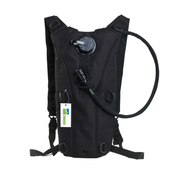 2.5L Hydration Pack Water Backpack Bladder Bag (Black)